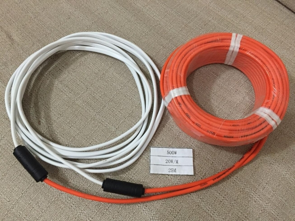 Electric Floor Heating Cable : Electric underfloor heating cable hfv w m of item