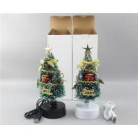 Wholesale 8 Inch Green LED Fiber Optic Christmas Tree (BC301B) from china suppliers