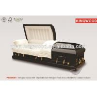 Wholesale PRESIDENT collapsible coffin lowering device wooden coffin from china suppliers