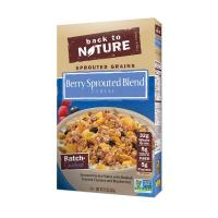 China Sprouted Grain Flakes with Baobab Granola Clusters & Blueberries. on sale