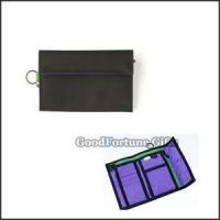 China Two Fold Polyester Wallet on sale