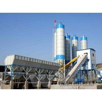 Wholesale HLS120K Overhead type cement bin concrete mixing plant from china suppliers