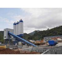 Wholesale HZS100 hoist hopper type concrete mixing plant from china suppliers