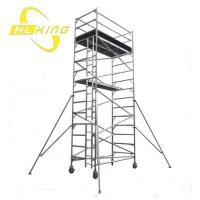 Wholesale 4.8m Double width Aluminium Scaffold Tower(SF-616) from china suppliers