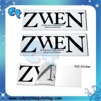 Wholesale Pvc transparent clear adhesive stickers from china suppliers