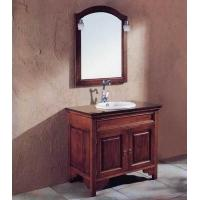 China S456 antique american style wooden bathroom furniture on sale