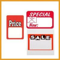Special Price Adhesive Label