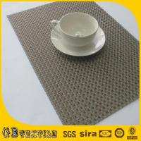 China heat resistant table mats placemats and coasters on sale