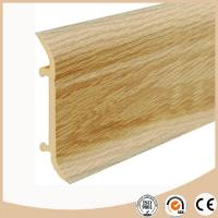 China WPC Vinyl Flooring Vinyl skirting board / Baseboard moulding on sale