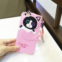Wholesale Green Dumbo little flying Elephant Gel silicone phone cases from china suppliers