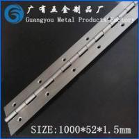 Wholesale 1000*52*1.5mm Top Rated Stainless Steel 304 Piano Hinges from china suppliers