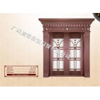 Buy cheap glass doors of bronze Put one's heart and soul into from wholesalers