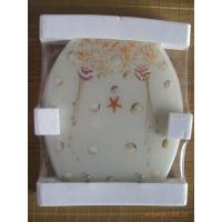 Wholesale Bathroom Colourful Resin Toilet Cover Plate from china suppliers