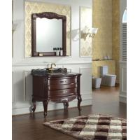 Buy cheap Classical Solid Bathroom Vanity Cabinet from wholesalers