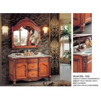 Buy cheap 2016 Cheapest Antique Solid Wood Bathroom Cabinet from wholesalers