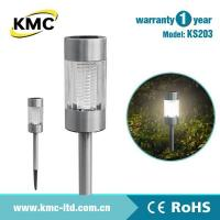 Wholesale Solar Holiday Light Solar Stainless Steel Bollard Light KS203 from china suppliers