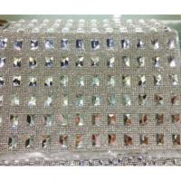 Wholesale Hot-Fix Rectangle Rhinestone Mesh Trimming, Diamante Net from china suppliers