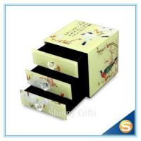 Buy cheap Full Plating Glass Materials Fancy Storage Box for Jewelries Wedding Favor from wholesalers