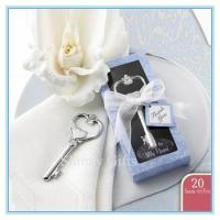 Buy cheap Wholesale european key shape bottle opener wedding favor and gift box from wholesalers