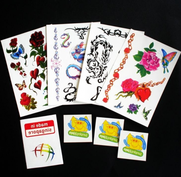 crystal sticker color printing body tattoo sticker 44975939