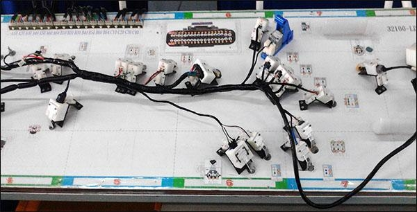 Wiring Harness Jig : Wire harness test system in line jig of item