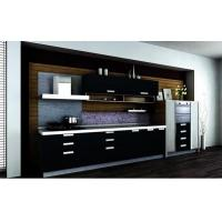 China black acrylic kitchen cabinet in best price with for Acrylic kitchen cabinets cost
