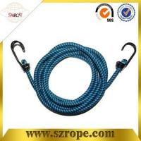 Wholesale good quality bungee cord with double metal hook Pass 88LBS test from china suppliers