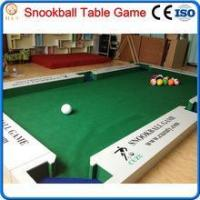 2016 new game snooker ball table,billiard soccer ball game