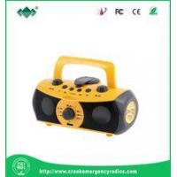 Wholesale LED Flashlight Hand Crank Dynamo Multifunctional MP3 Player Torch from china suppliers
