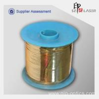 Buy cheap Gold Color Laser Tear Tape for Packaging Protection from wholesalers