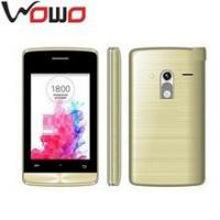"3.5 "" QVGA 320*480 screen G3 dual sim smart phone"