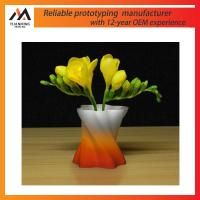 Buy cheap 3D print model simulation flower rapid prototype plastic from wholesalers