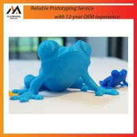 Buy cheap 3D printing customize toy slicone frog 3D Print model making from wholesalers