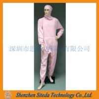 Wholesale STD Anti-static crotch Zip Hooded Jumpsuit Welcome to order from china suppliers