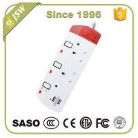 Wholesale 220V 13A uk electrical extension on off switch socket with 2 usb ports from china suppliers