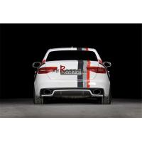China A3 A4 B8 FACELIFT MODEL RIGER RS5 STYLE REAR DIFFUSER on sale