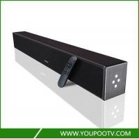 Wholesale Wooden housing sound bar bluetooth for tv with built in bass system from china suppliers