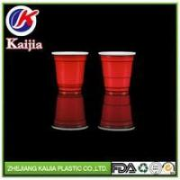 Buy cheap 2oz Mini Red Liquor cup / solo cup / shot glasses from wholesalers