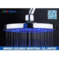 Wholesale Hotel SPA Ceiling Mounted Rain Shower Heads Overhead , Blue Led Shower Head from china suppliers