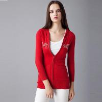 Wholesale 2016 Classic Red Ladies Knitted Cardigan from china suppliers