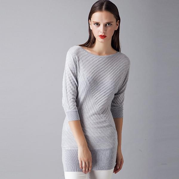 Quality 2016 Slim Grey Sweater Dress designs for ladies for sale