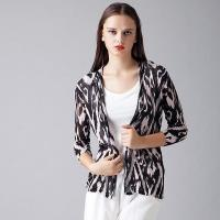 Wholesale 2016 Sexy Leopard Print Ladies Knitted Cardigan from china suppliers