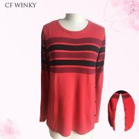 Wholesale 2016 Fashion Strip women sweater from china suppliers