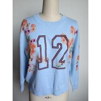 Wholesale 2016 Fashion Embroidery With Printing Sweater For Ladies from china suppliers