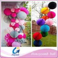 China decoration party honeycomb paper ball on sale