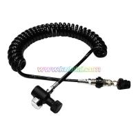 Coil Remote Hose With QD Slide Check And 1500 Psi Mini Gauge on sale