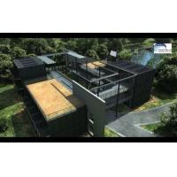Wholesale Solar Panel Prefab Container Homes Fully Finished Movable For Office from china suppliers