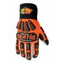 Wholesale High Visibility Cotton Oilfield Safety Products Impact Safety Gloves from china suppliers