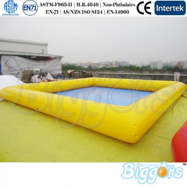Large square inflatable pools for adults and child best Square swimming pools for sale