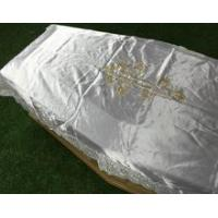 China quilted coffin cover and quilted coffin interiors